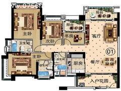 160平4房2厅2卫