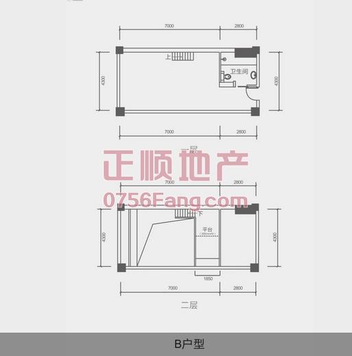 中安广场 - 户型图