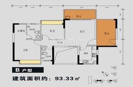 金碧丽江(誉城花园) - 户型图