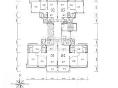 24栋1单元户型图
