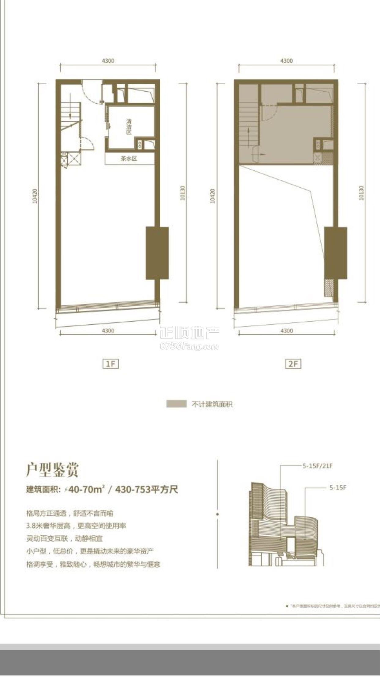 中冶盛世国际广场 - 户型图