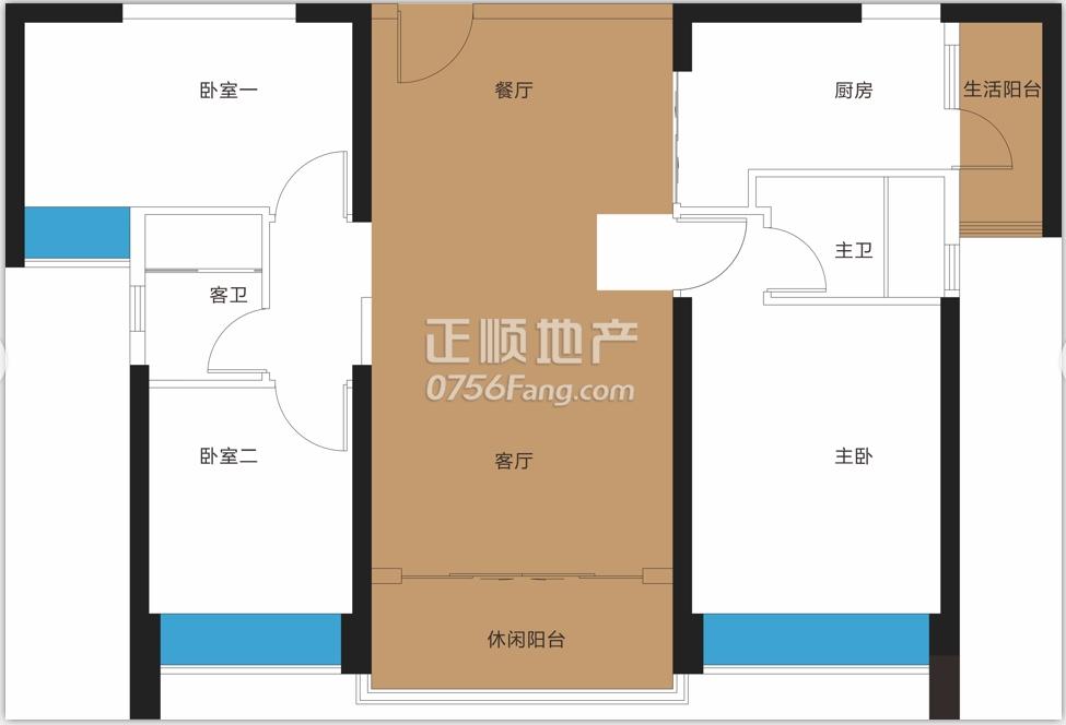 江南岸 - 户型图