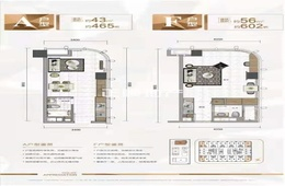 奥园天悦广场 - 户型图