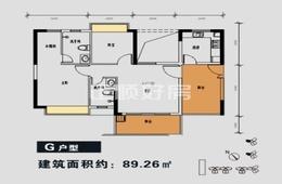 金碧丽江(誉诚花园) - 户型图