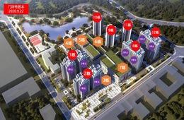 项目楼栋分布图