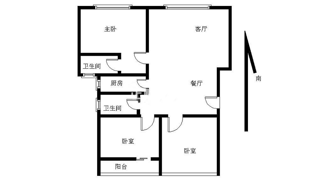 翠菁苑户型图