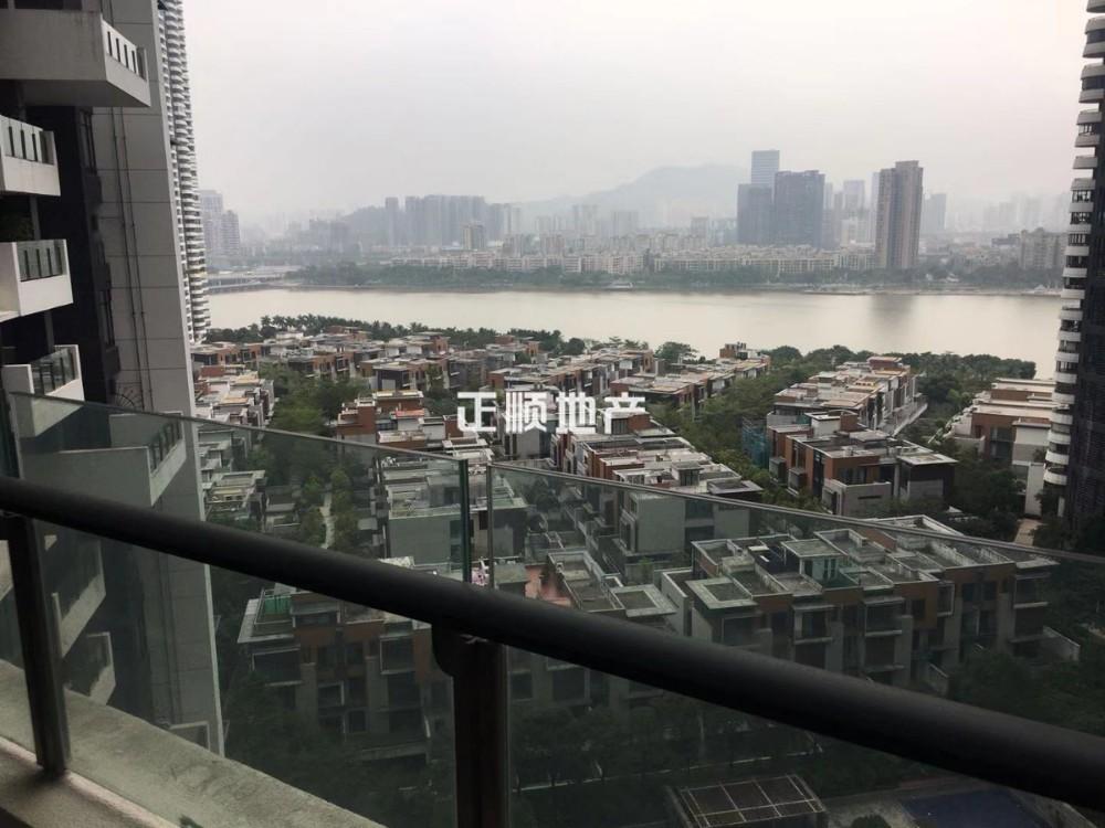 中信红树湾 82.56平 大1房1厅1卫1阳台 豪华装修 看河景 售320万