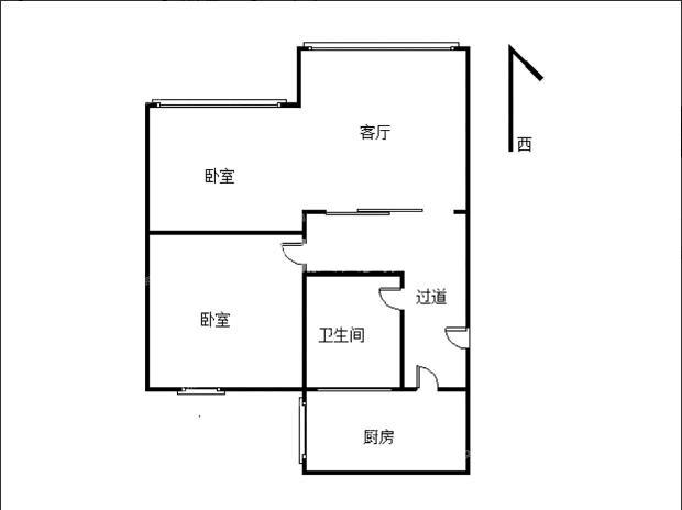 新香洲 香华花园 精装2房 稀缺户型,诚信出售,价格可谈