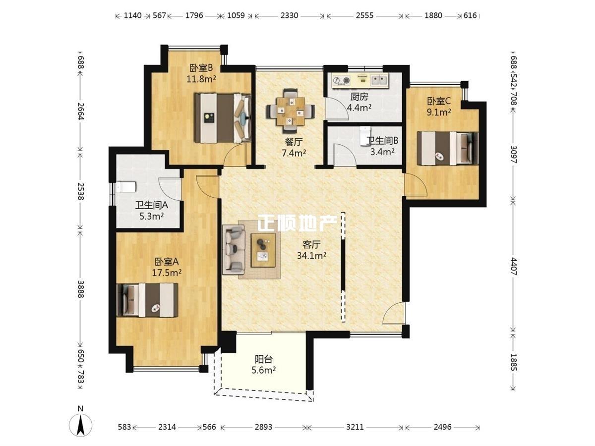 近横琴关口,毗邻澳门大学,高档装修全新精装三房 业主诚心出售