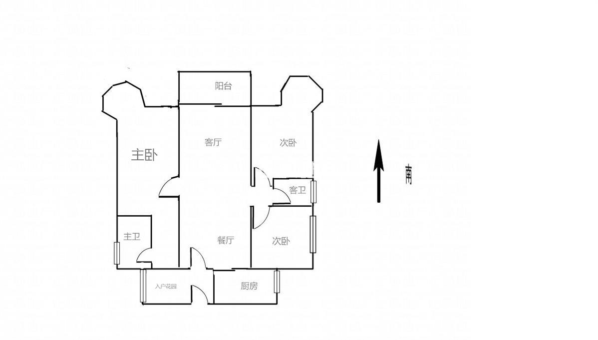 斗门白蕉  宁海一期  电梯精装3房  家私家电齐全  独家靓房