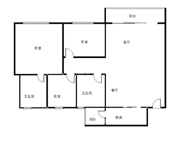 南屏南泰明湾,精装三房,家私家电齐全,带90平方大平台,