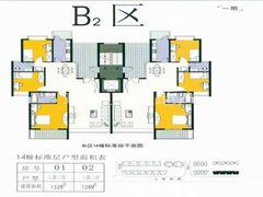 B2区14栋标准层