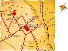 中澳新城小区布局图